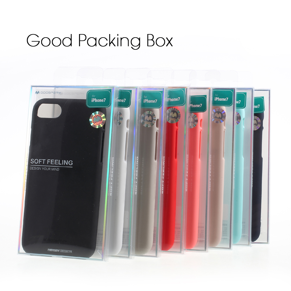 Daftar Harga Goospery Iphone 8 Soft Feeling Jelly Case With Hole Red Pearl All Type Special  Gold Mercury For Plus 7 5s 5 Se 6 6s