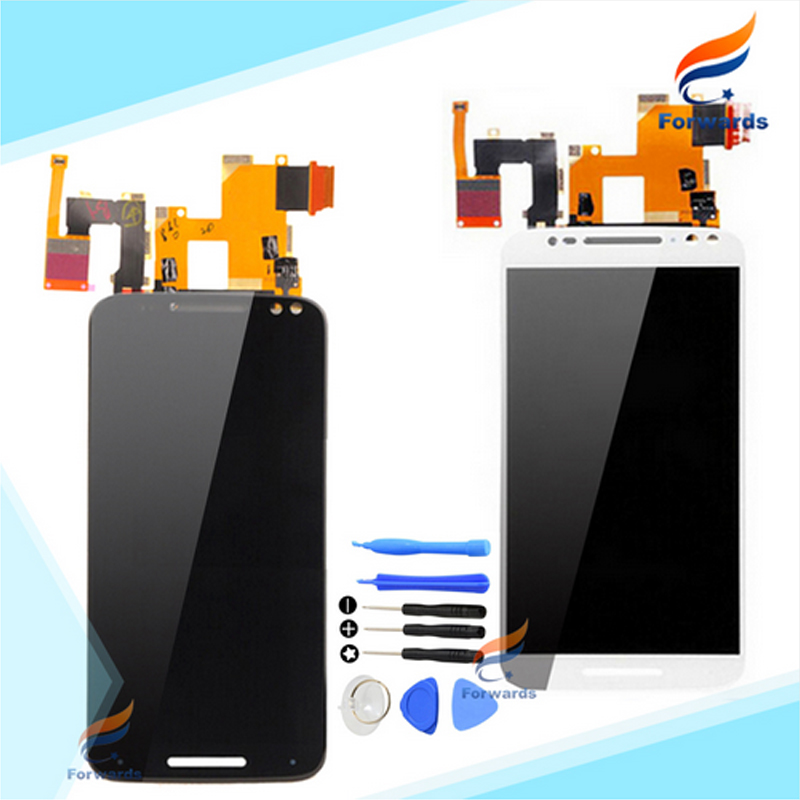 10pcs/lot DHL/EMS free shipping 5.7'' for Motorola Moto X Style X3 XT1570 LCD Screen Display with Touch Digitizer Tools Assembly 2016 sale rushed 10pcs free dhl ems for motorola moto xt1254 touch digitizer lcd display 100