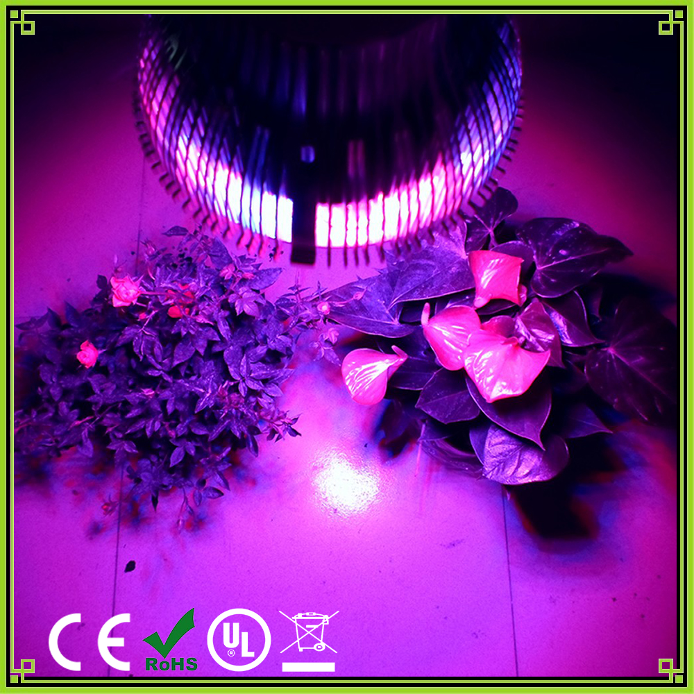 1pcs Full Spectrum E27 54W Led Grow light 12Red 6Blue Indoor grow box Hydroponic Systems lamps