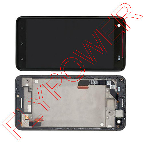 LCD Display + Touch Screen Digitizer + Frame For HTC Droid DNA X920e Butterfly Verizon Black by free shipping ; HQ;