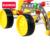 O envio gratuito de metal model building kits empilhadeira grande iluminai educação assemblage diy crianças brinquedos modelo 3d da menina do menino presentes