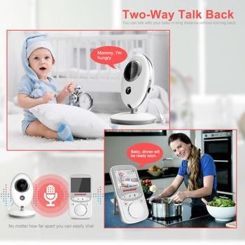 Wireless LCD Audio Video Baby Monitor VB605 Radio Nanny Music Intercom IR 24h Portable Baby Camera Baby Walkie Talkie Babysitter 1