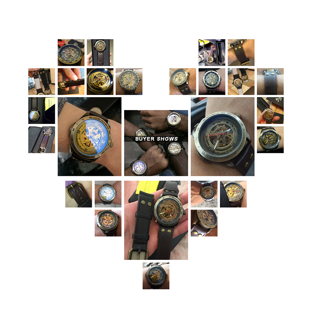 HTB1wdzjXinrK1Rjy1Xcq6yeDVXaW Skeleton Mechanical Watch Automatic Watch Men Steampunk Bronze Transparent Mens Automatic Mechanical Watches Clock montre homme