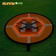 Парковочная площадка для дрона SUNNYLIFE D80cm, светящаяся в темноте для квадрокоптера DJI Phantom 2 3 4 Mavic Pro Air Inspire 1, гоночный гаджет