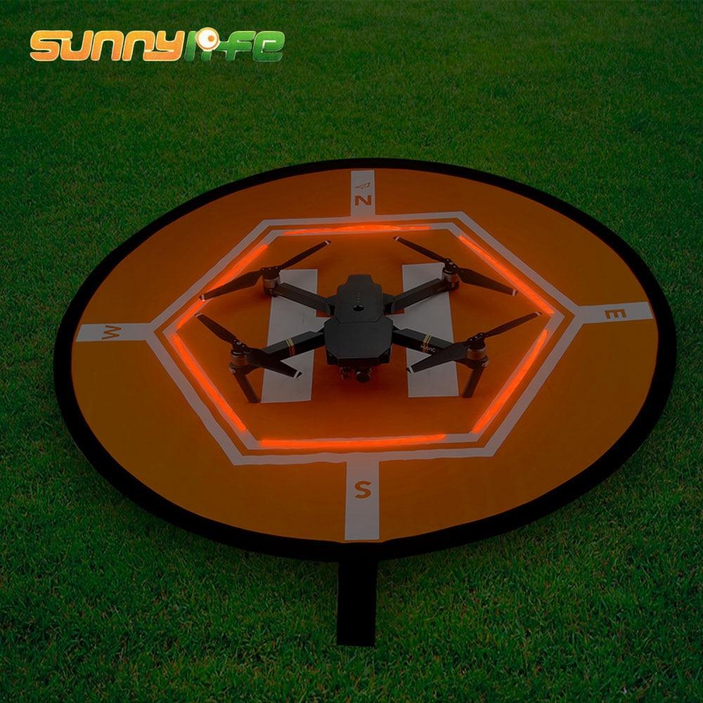 SUNNYLIFE D80cm Drone Landing Parking Pad Glow in Dark for DJI Phantom 2 3 4 Mavic Pro Air Inspire 1 Quadcopter RC Racing Gadget