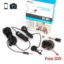 By-m1 всенаправленная петличный микрофон Электрический конденсаторный микрофон для смартфонов, DSLR, Камера…