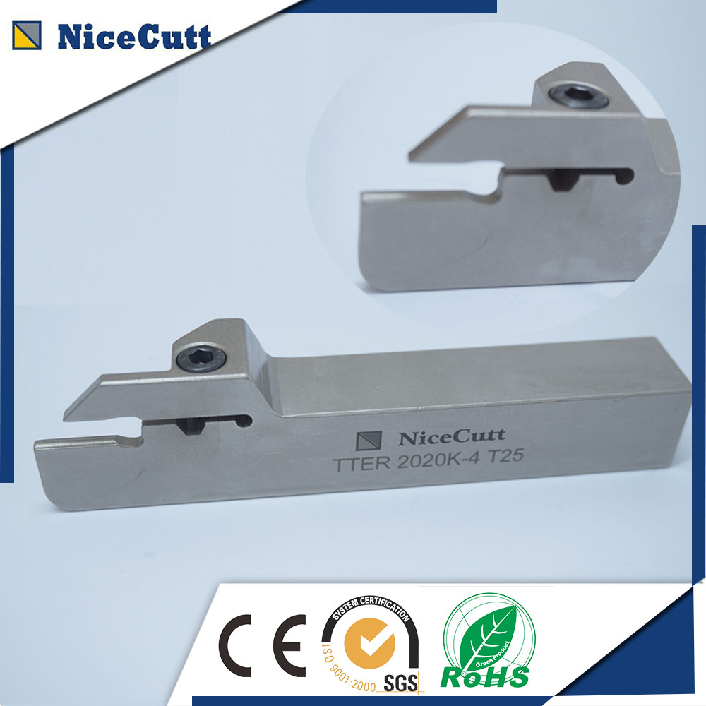 Free Shipping Solt Grooving Cutter Right Hand TTER2525 Series Lathe CNC Machine for Solt Insert TDC
