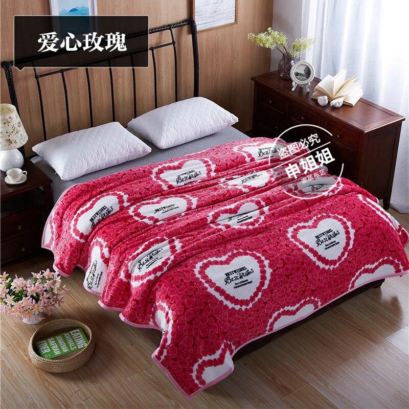 150/180x200cm Home Textile Thin Cartoon blankets for summer super warm soft blankets throw on sofa/bed Cartoon Child Sheet