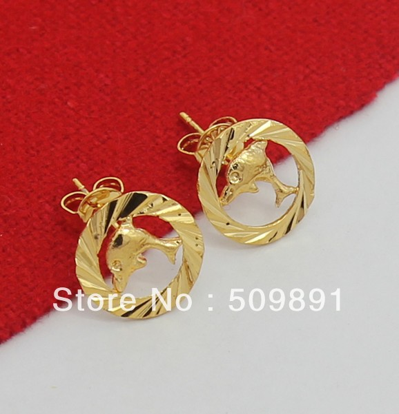 24 carat gold earrings buy wholesale 24 carat gold earrings from china 24 5094