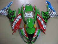 Fairing kits for Kawasaki ZX 6R 2009 2010 2011 2012 NINJA zx6r 09 12 red green white ABS plastic motorcycle fairings set PA13