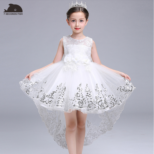 c0440cc1b9c christmas dress white princess dress for 3-14 years girl party dress 7  seconds fish kids brand vestidos children party dress