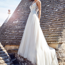CLOUDS IMPRESSION Sexy Sweetheart A-Line BOHO Wedding Dress