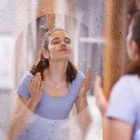 0.5x1m Blue Protective Layer Clear Anti Fog Film Premium Antibacterial for Bathroom Mirror Bathroom Interior