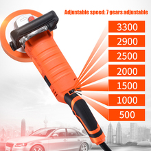 1580W Polisher 220V Car Polishing Machine Adjustable Speed Car Electric Waxing Automobile Furniture Sanding Machine Power Tools