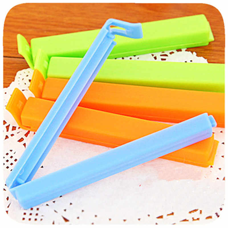 1PC Portable New Kitchen Storage Food Snack Seal Sealing Bag Clips Sealer Clamp Plastic Tool GYH