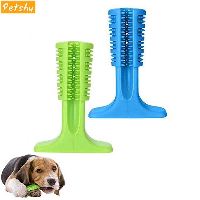 Petshy собака Зубная щётка чистки палку безопасности ПЭТ жевать игрушки Укус игрушки маленький средний большой собаки кошки зубы очистка полости рта кисть