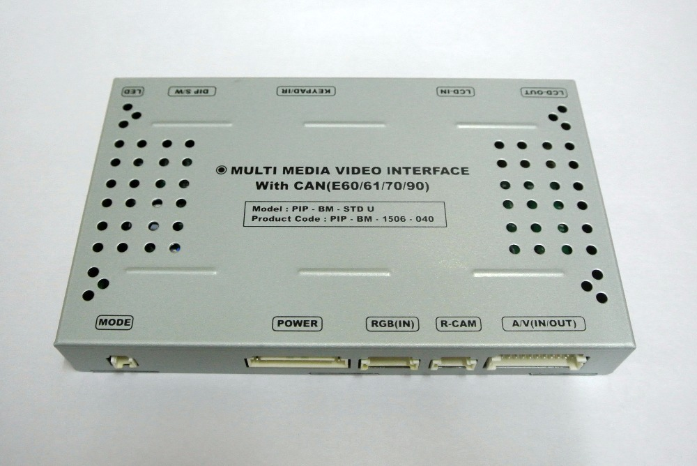 Car Multimedia Video Interface for BMW 3/5/6 series/X5/X6 with CCC System(China)