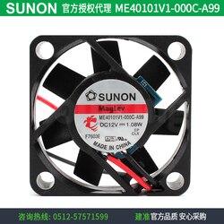 Nowy SUNON ME40101V1-000C-A99 4010 12 V 1.08 w wentylator chłodzący CPU