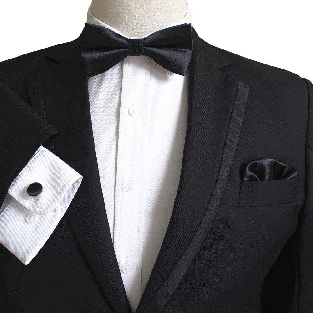 bowtie set solid ORANGE wedding NEW in box Men/'s 100/% SILK Cummerbund