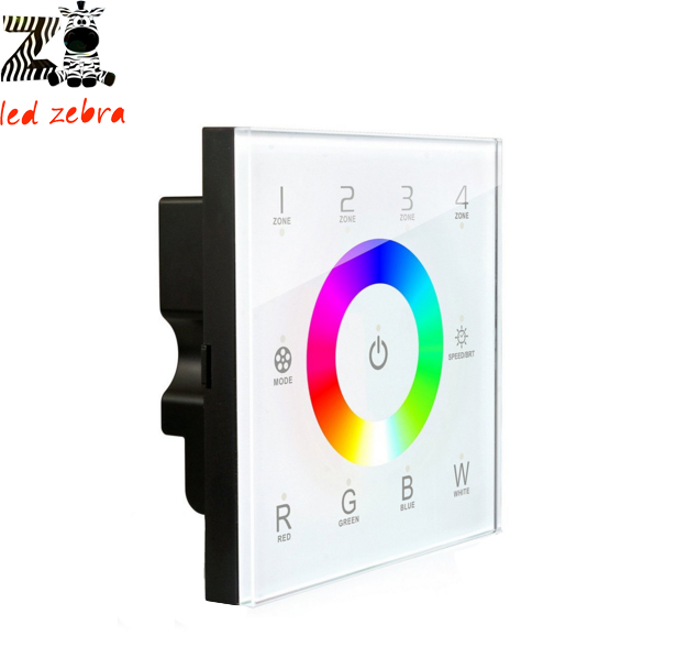 все цены на DX8 touch panel rgbw led controller,2.4g rf wireless 4 zones control dmx512 signal ouput for rgbw led strip bulb AC110-240v онлайн