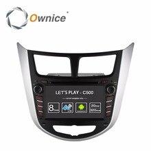цена на Octa Core Android 6.0 Car DVD Player for Hyundai Accent Solaris Verna i25 2011 2012 2013 2014 Radio GPS Stereo 4G LTE