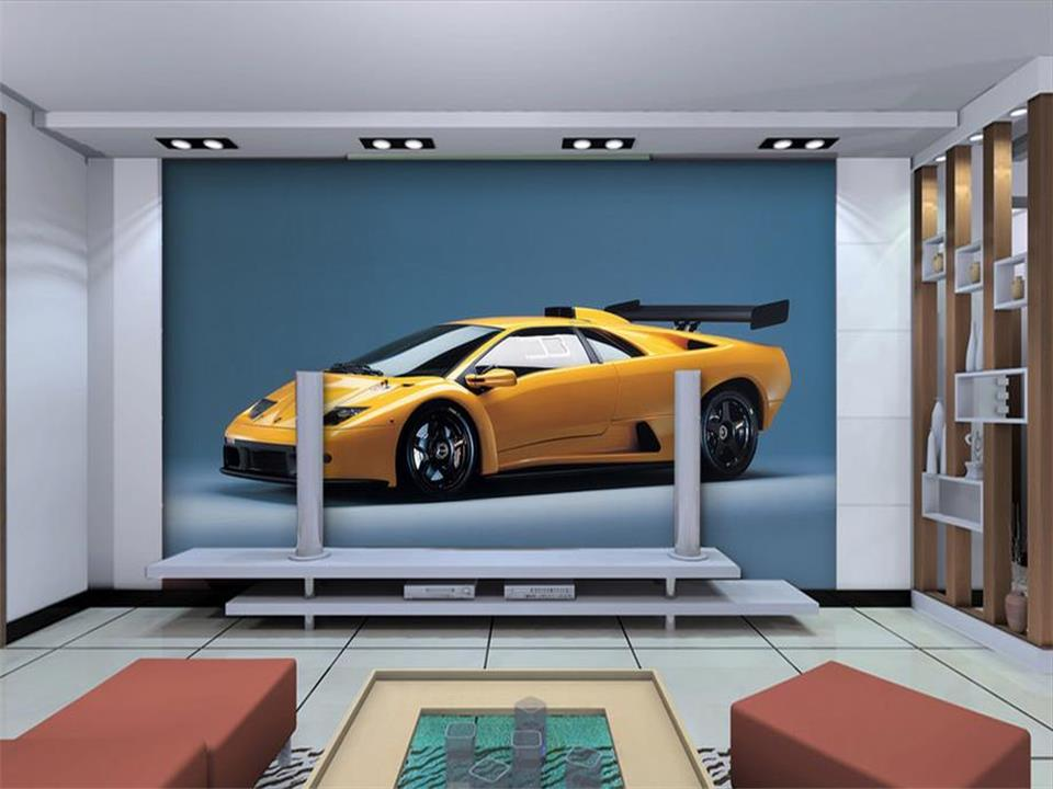 3d Wallpaper Custom Photo Wallpaper Living Room Mural Famous Car Sofa TV Background Wall Sticker Painting Wallpaper For Wall 3d