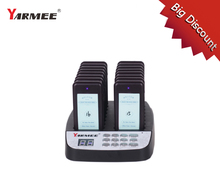 YARMEE YPS 216 Wireless Queuing pager system Wireless pager system for fast food restaurant coffee shop
