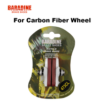 Baradine 473CL Road Bike Bicycle C Brake Caliper Brake Shoes Pads For Carbon Fiber Wheel Fit