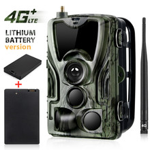 2 шт. 5000 мАч аккумуляторная батарея 4G MMS SMTP FTP охотничья камера следа мобильный наблюдение дикой природы HC801LTELI 16MP 1080 P