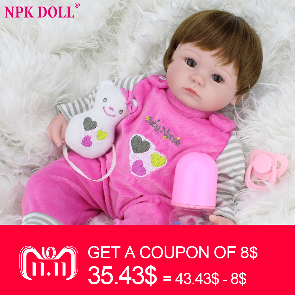 40 см силиконовая кукла реборн дети Playmate подарок для дюймов девочек 16 дюймов детские живые мягкие игрушки для Bebe Reborn Brinquedo оптовая продажа