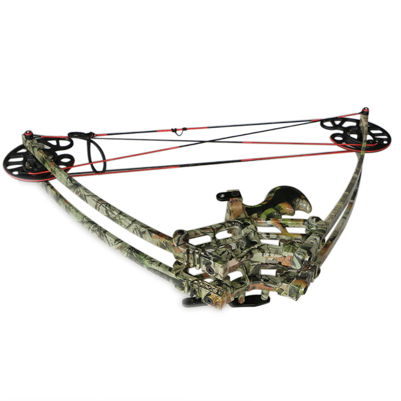 цена на M109 camo triangle camo compound bow for left and right handed users let off 75% 50lbs 1pc