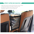 Universal car trunk Interior Organizer Auto back Rear Seat Storage Mesh Car Elastic String Net Pocket