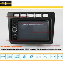 For PROTON L5 Sportback 2012~2013- Car Radio Stereo CD DVD Player / HD Touch Screen Audio Video GPS Navigation System