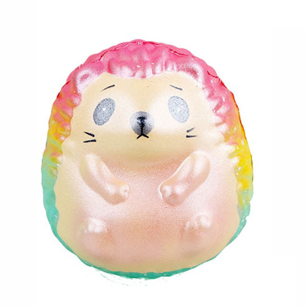 2019 Hot Selling Squeeze Galaxy Hedgehog Slow Rising Cream Scented Decompression Toys    6.6