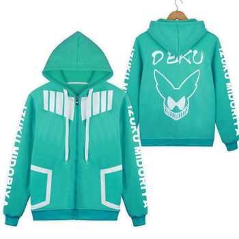 My Hero Academia Coat Jacket Boku no Hero Academia Hoodie anime cosplay costume School Uniforms mens Hoodies Sweatshirts - DISCOUNT ITEM  23% OFF All Category