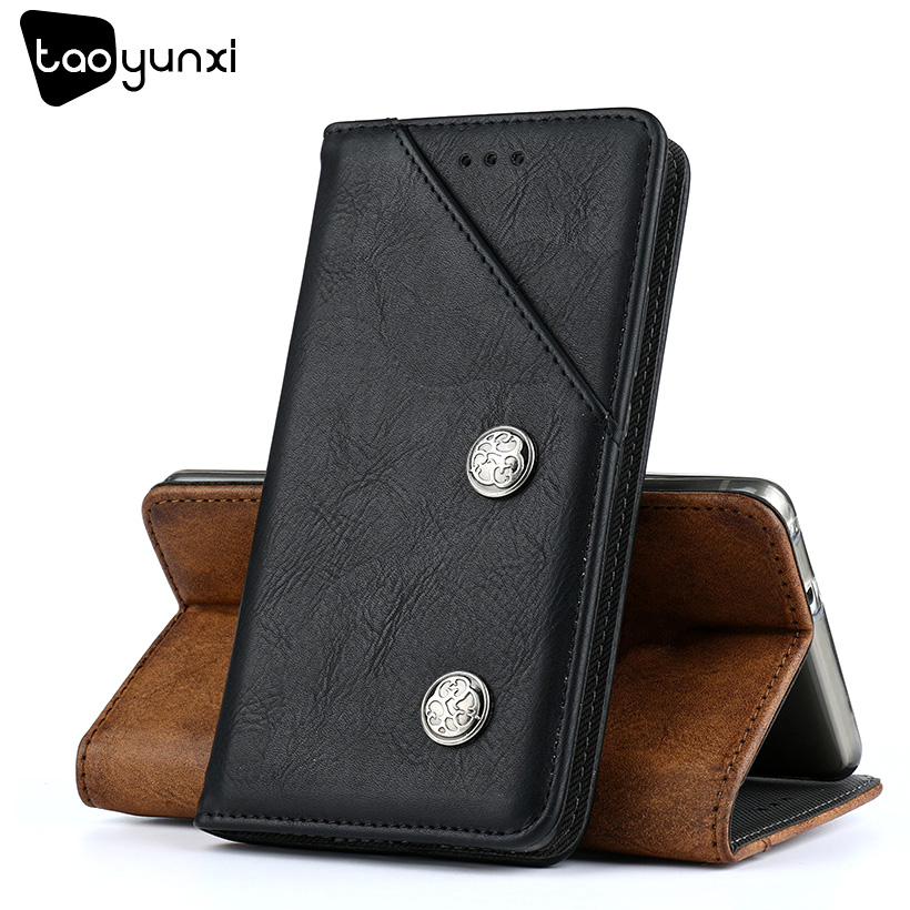 TAOYUNXI Business Case For Samsung J3 Prime Cases 5.0 inch Flip Magnetic PU Leather Cover For Samsung Galaxy J3 Emerge Covers