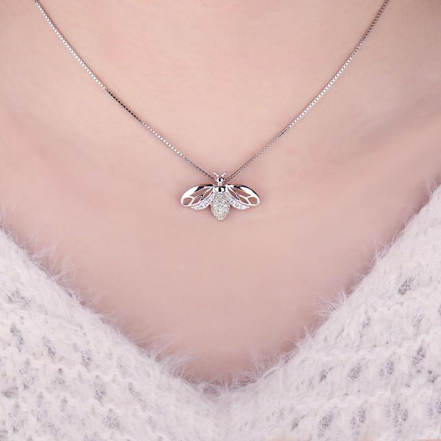 Bee Sterling Silver Pendant