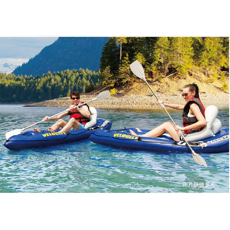 Aqua Marina Veloctiy 1 Person Sit On Top Inflatable Boat