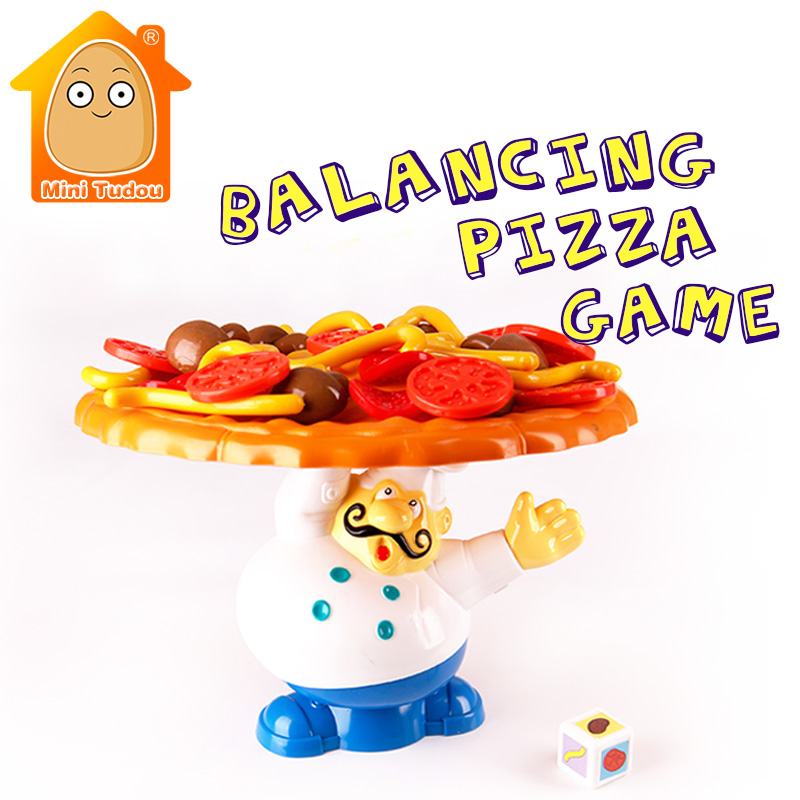 MiniTudou Incline Interactive Balance Board Game Pizza Pile Up Kids Children Great Famil ...
