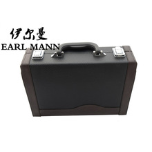 High-grade Graceful PU Hard Case For Clarinet Instruments Luggage And Bags Trunk Imitate Leather Clarinete Box
