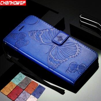 Podwójny 3D motyl portfel etui do Sony Xperia L1 L2 XA1 XA2 XA ultra xz XZ1 XZ2 Z3 Z5 kompaktowy mini E5 XZ2 telefon premium Coque