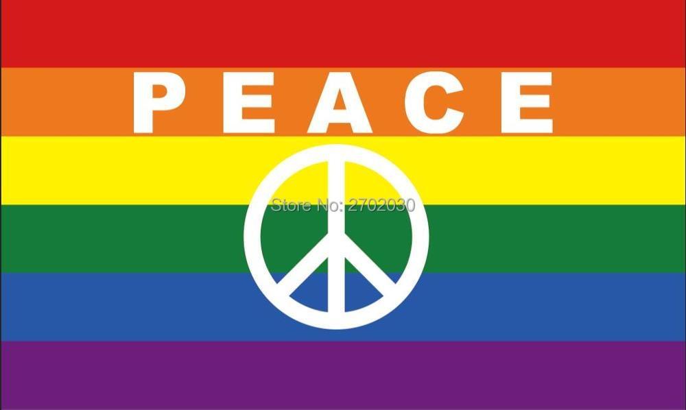 Bildergebnis für PEACE FLAGGE