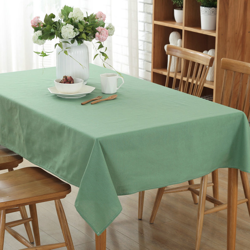 Aliexpress.com : Buy Kalameng 8 Size Solid Color Home Decor Linen Cotton  Tablecloth Rectangle Dustproof Table Cover Grey,Coffee,Sky Blue,Beige,Green  From ...