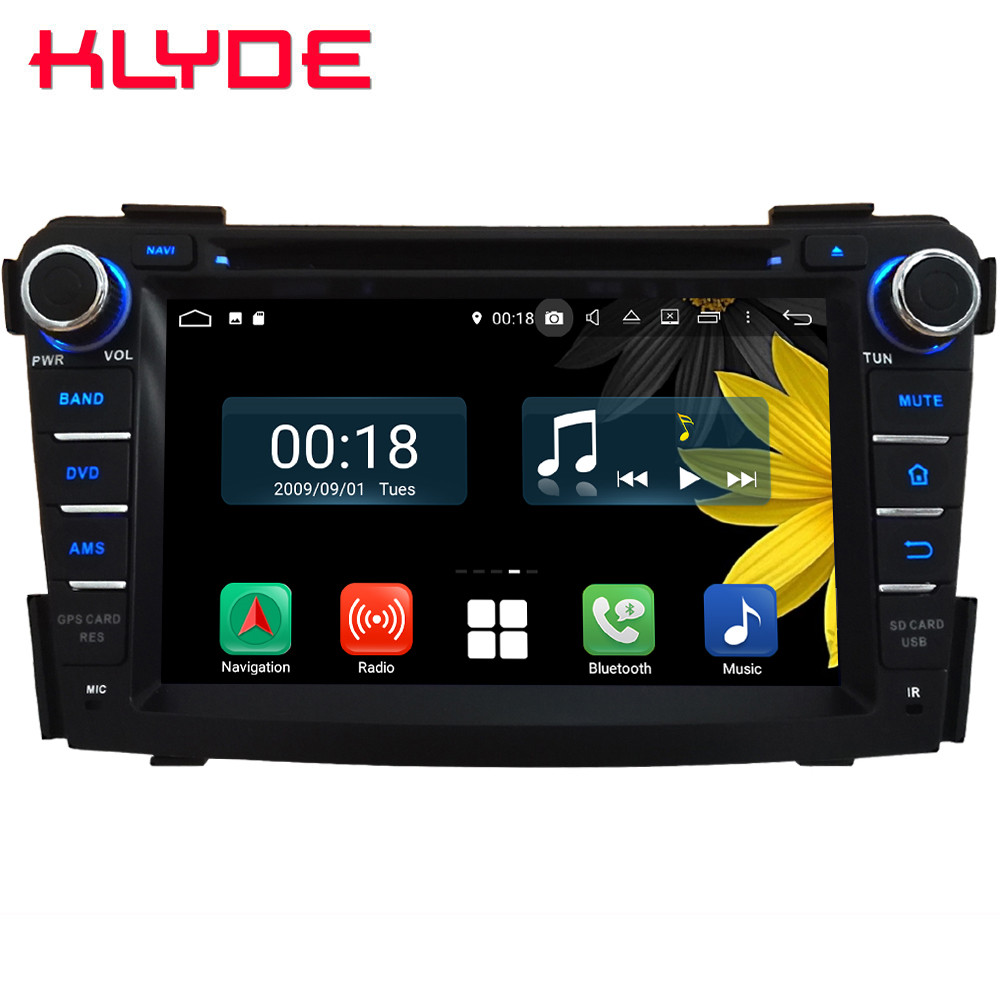 7 Octa Core 4G WIFI Android 8.1 4GB RAM 64GB ROM RDS DAB Car DVD Player Radio GPS Glonass Navigation For Hyundai I40 2011 2016