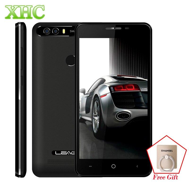 Ursprüngliche LEAGOO KIICAA POWER Smartphone 2 GB/16 GB Dual Rückseite Kameras Fingerabdruck 5,0 ''Android 7.0 MTK6580A Quad Core 3G Handy