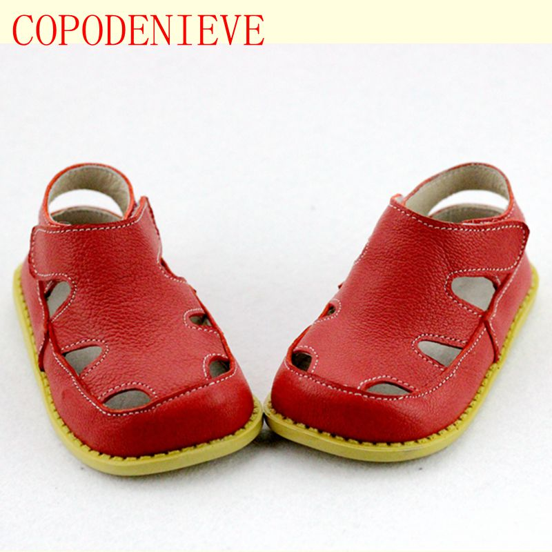 COPODENIEVE New Style Of Fashion Casual Boys Girls Sandal For Baby Shoes Anti-Slip Children Sandals Brand White Pink
