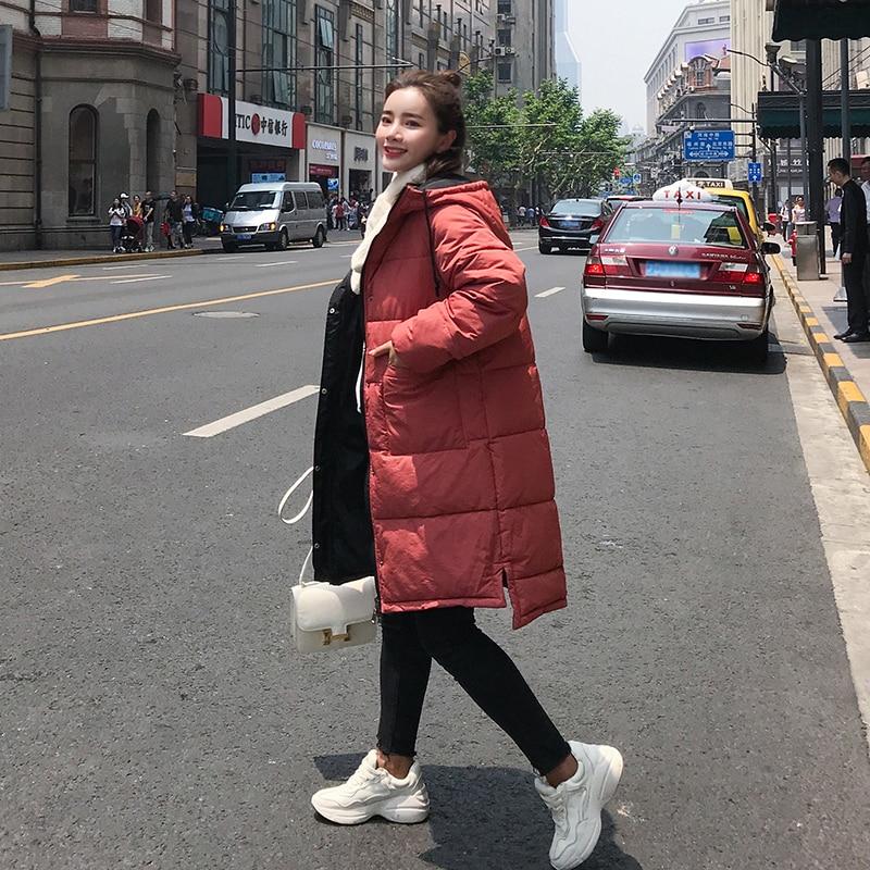 Rembourré À Deux Capuchon Parka Épaississent Long Peut Parkas Coton Fois Haute Porter Femme Hiver rouge Veste Manteau Femmes Être 2018 Chaud La Noir Qualité Côtés vert xz70U8wqwB
