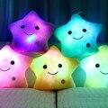 1 unids 40 cm * 35 cm Luz de la Estrella Colorida Juguetes Rellenos De Almohadas Super Calidad Juguetes Populares En Las Niñas Y los niños El Envío Libre