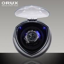 ORUX Schwarz Neue Ankunft Weiß Einzel Uhrenbeweger für automatische uhren-box automatische wickler speichervitrinenkasten