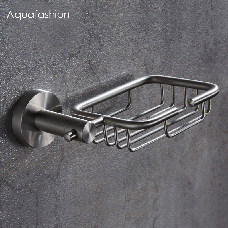 Stainless Steel Soap Holder Bathroom Accessories Shower Soap Dish Bathroom Wall Soap Holder Free ShippingStainless Steel Soap Holder Bathroom Accessories Shower Soap Dish Bathroom Wall Soap Holder Free Shipping
